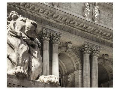 Patience Guarding the Library--Art Print