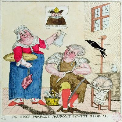 Patience Margot, it Will Soon Be 3 Times as Much, 1789--Giclee Print