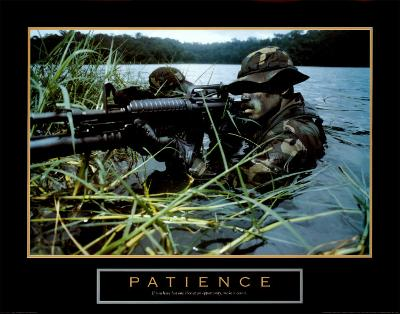 Patience, Soldier--Art Print