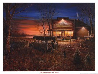 Patiently Waiting-Jim Hansel-Art Print