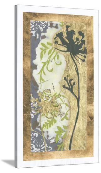 Patinaed Lace II-Jennifer Goldberger-Stretched Canvas Print