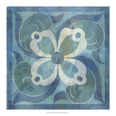 Patinaed Tile V-Naomi McCavitt-Giclee Print