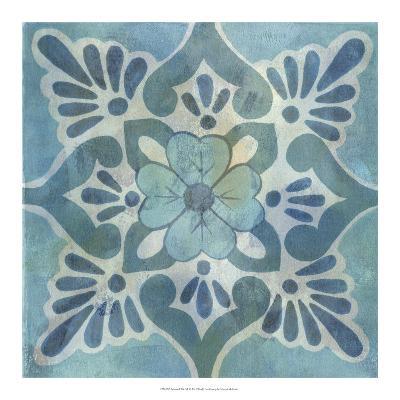 Patinaed Tile VI-Naomi McCavitt-Giclee Print