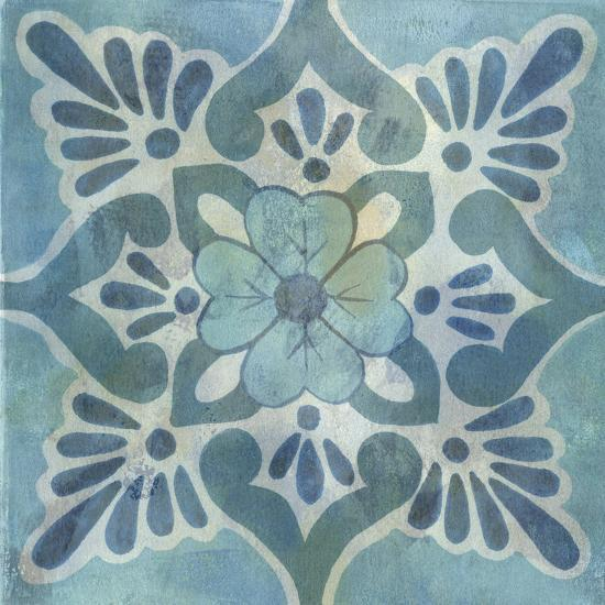 Patinaed Tile VI-Naomi McCavitt-Art Print