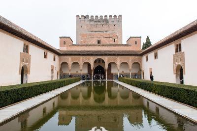 Patio De Arrayanes, Palacios Nazaries, the Alhambra, Granada, Andalucia, Spain-Carlo Morucchio-Photographic Print