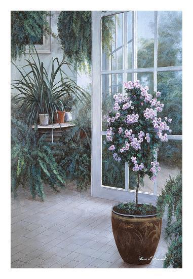 Patio Light-Diane Romanello-Art Print