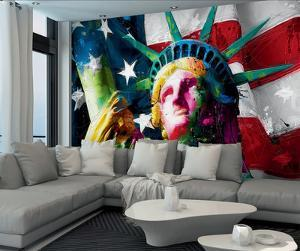 Patrice Murciano Statue of Liberty Wall Mural by Patrice Murciano