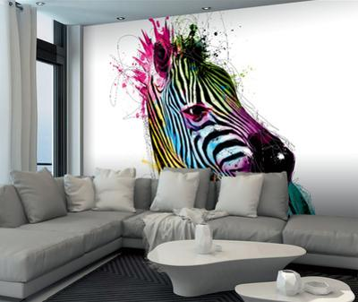 Patrice Murciano Zebra Wall Mural