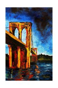 Brooklyn Bridge to Utopia, 2009 by Patricia Brintle