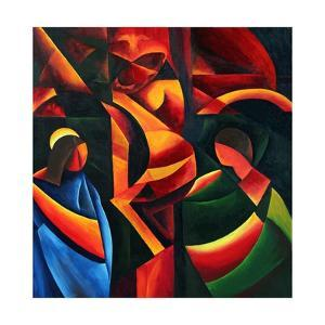Christ - Last breath, 2008 by Patricia Brintle