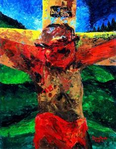 Crucifixion- it Is Finished, 2009 by Patricia Brintle