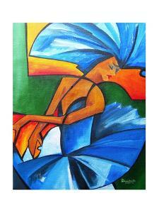Dance in blue, 2008 by Patricia Brintle