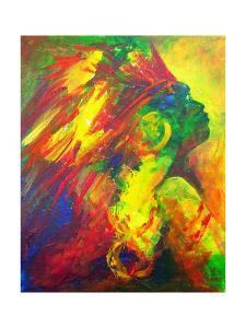 Guatiguana the Taino, 2011 by Patricia Brintle