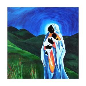 Madonna and child - Hope for the world, 2008 by Patricia Brintle