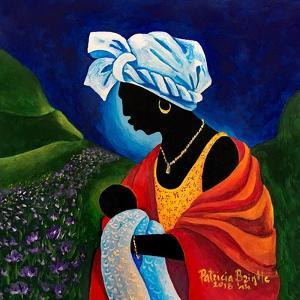 Madonna and Child - Lilly Field by Patricia Brintle