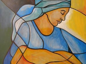 Madonna and child by Patricia Brintle