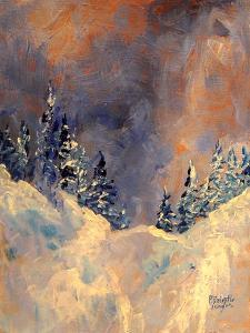 Mist on the Snow Peak, 2009 by Patricia Brintle