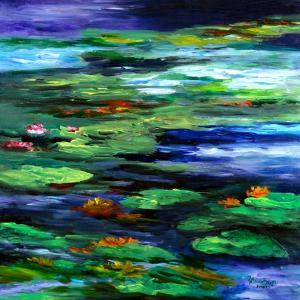 Water Lily Somnolence, 2010 by Patricia Brintle