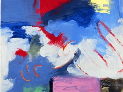 Abstract, Red, Blue