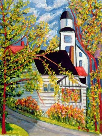 House with Church, Badeck