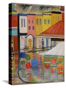 Spring Rain, Bywood Market by Patricia Eyre