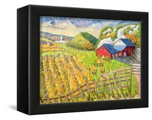 Wheat Harvest, Kamouraska, Quebec by Patricia Eyre