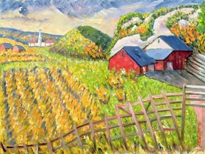 Wheat Harvest, Kamouraska, Quebec