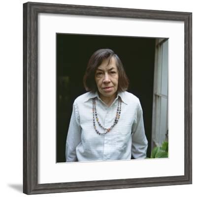 Patricia Highsmith, 1986--Framed Photographic Print