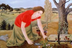 Summer Garden, 1990 by Patricia O'Brien
