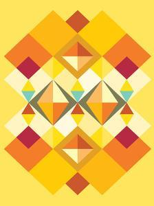 African Fabric Pattern by Patricia Pino