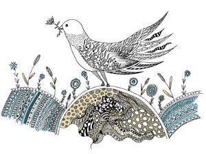 Bird Flower by Patricia Pino
