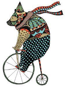 Circus Bear by Patricia Pino