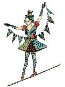 Circus Girl by Patricia Pino