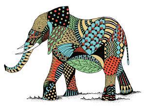 Elephant by Patricia Pino