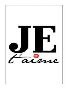 Je T'aime by Patricia Pino