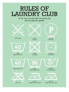 Laundry Club Green by Patricia Pino