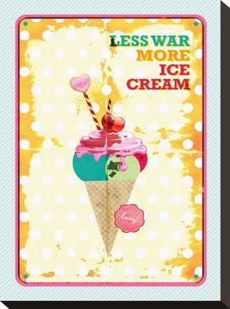 Less War More Ice Cream