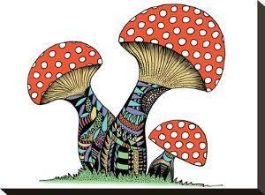 Mushrooms by Patricia Pino