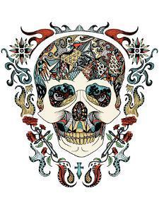 Skull by Patricia Pino