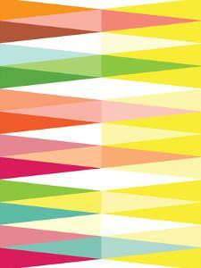 Spring Geometric Triangle by Patricia Pino