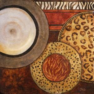 African Circles II by Patricia Pinto