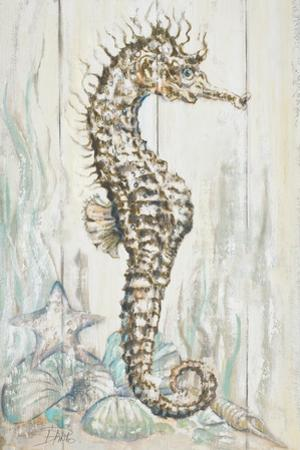 Antique Sea Horse I by Patricia Pinto