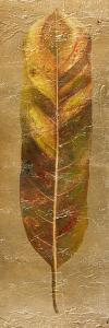 Arte Verde on Gold II by Patricia Pinto