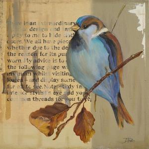 Blue Love Birds I by Patricia Pinto