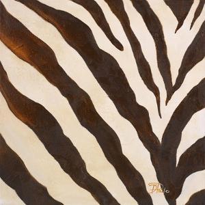 Contemporary Zebra III by Patricia Pinto