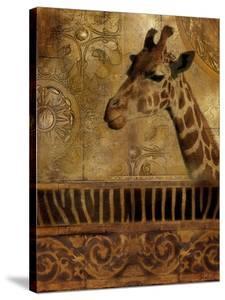 Elegant Safari III (Giraffe) by Patricia Pinto