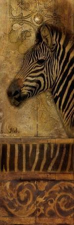 Elegant Safari Panel I (Zebra) by Patricia Pinto