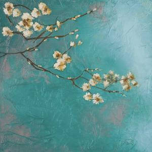 Glamorous on Teal I by Patricia Pinto