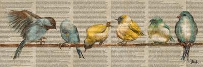 Gleeful Newsprint II