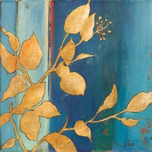 Golden Blue I by Patricia Pinto